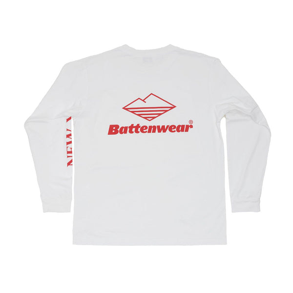 BATTENWEAR NY LS BASIC POCKET TEE