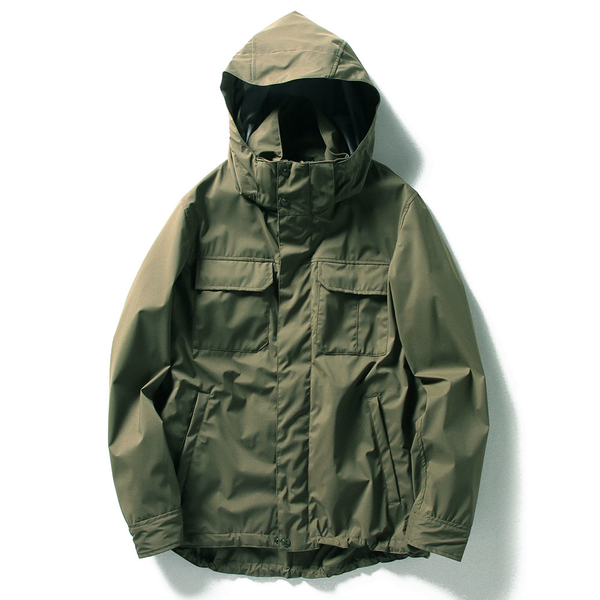 NATURALIST SHELL JACKET, OLIVE