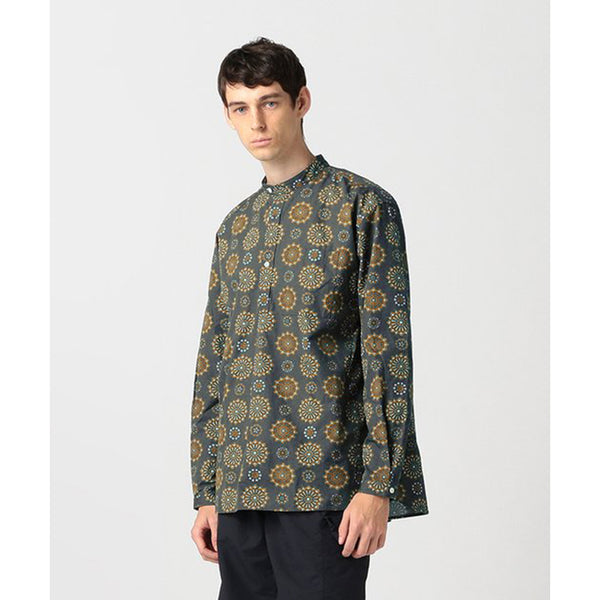 HARRIS PRINTED POPOVER SHIRT