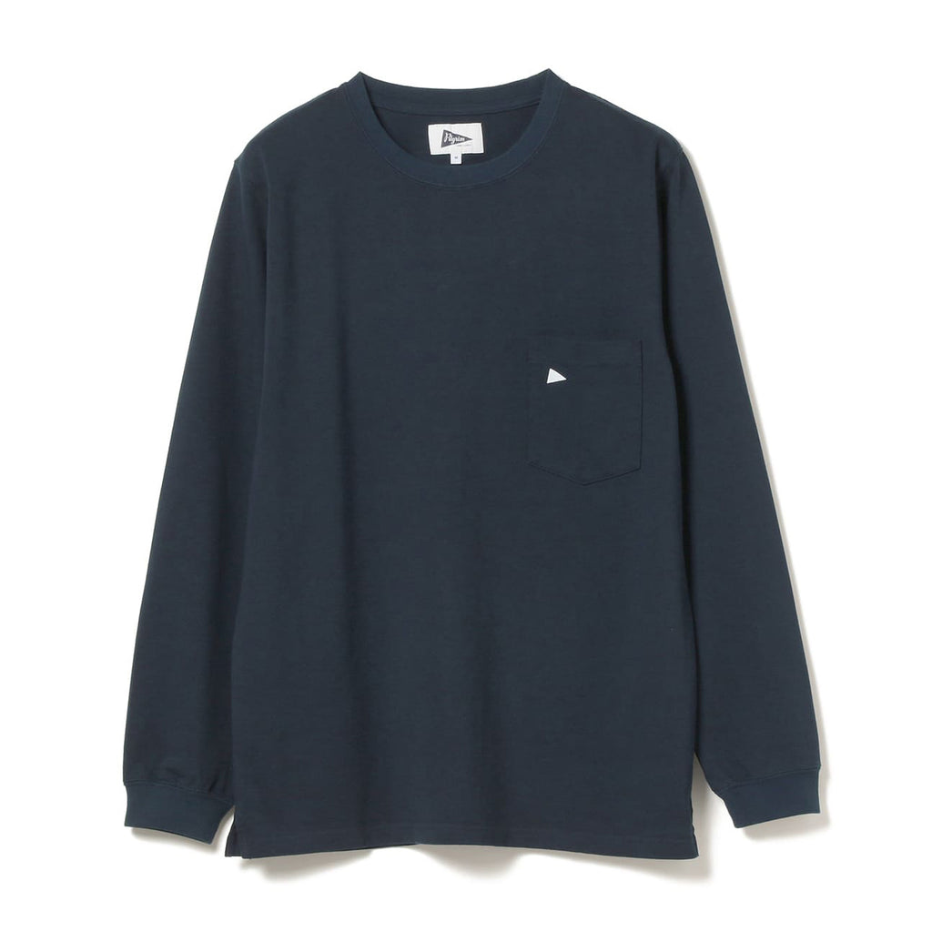 PILGRIM LS TEAM POCKET TEE