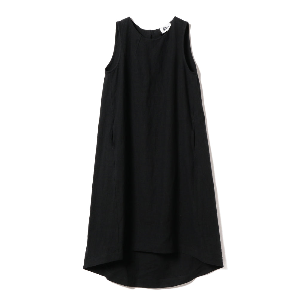 PAULINE LINEN BUTTON BACK DRESS