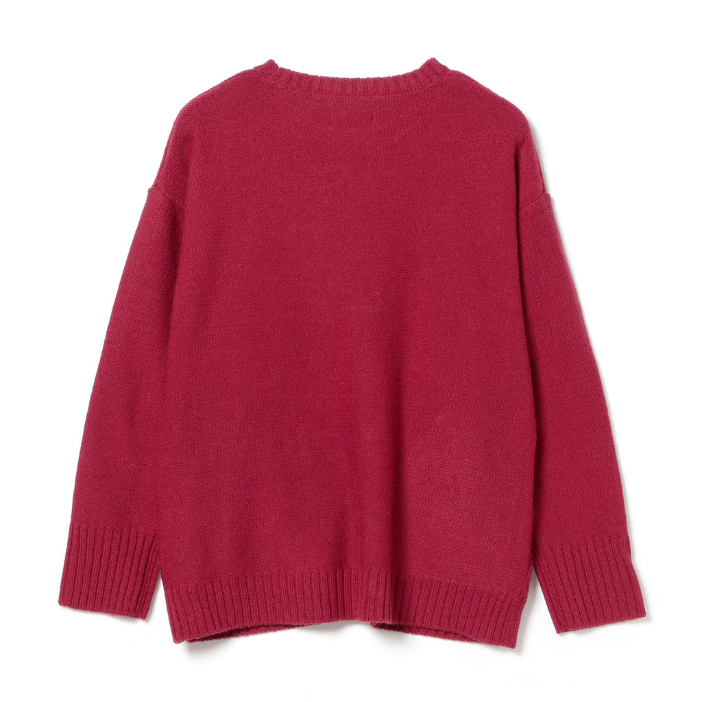 LANA WOOL CREW SWEATER