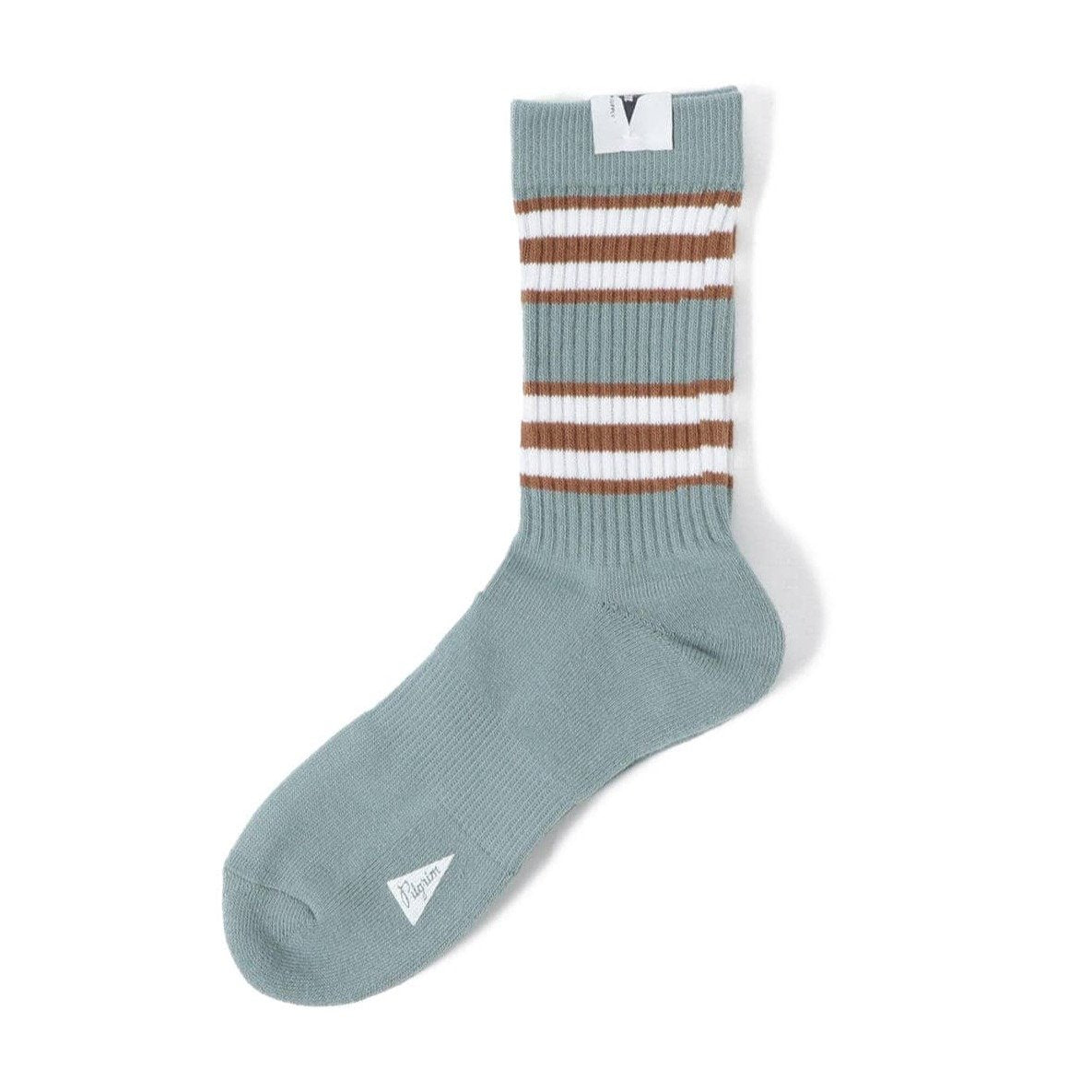 Morris Stripe Crew Socks