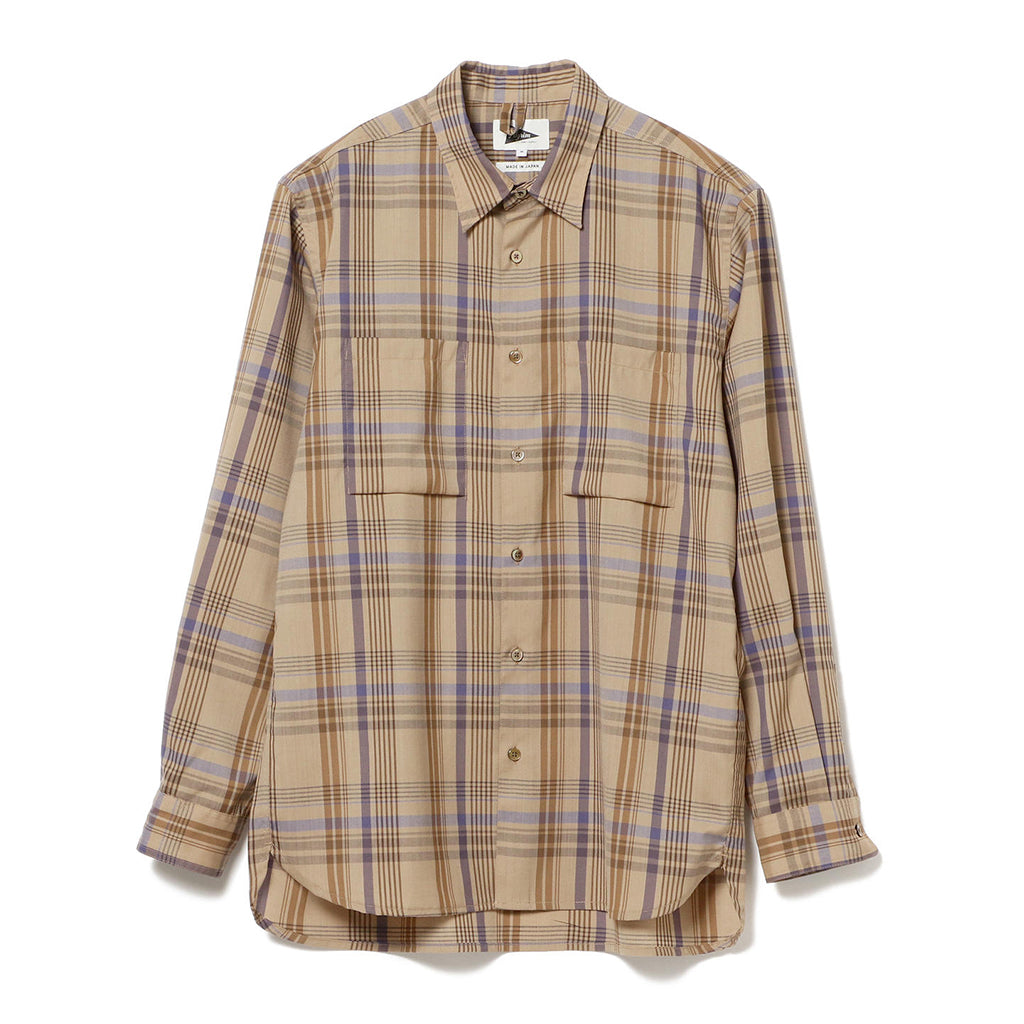PAYNE WOOL PLAID SHIRT