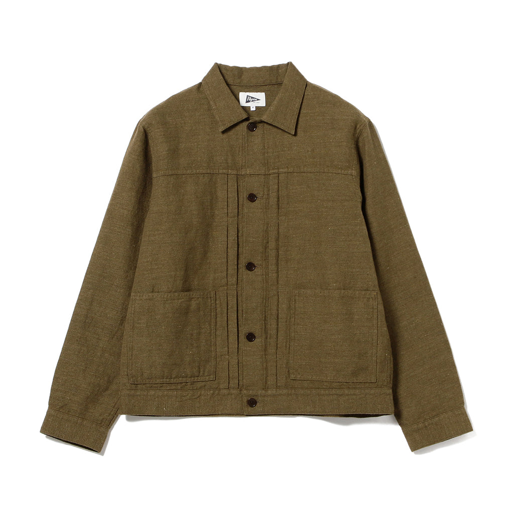 RAINER WASHED WESTERN JACKET