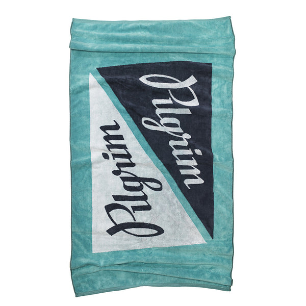 BEER CAN BEACH TOWEL