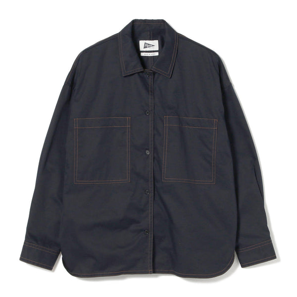 CLAUDIA CONTRAST WORK SHIRT