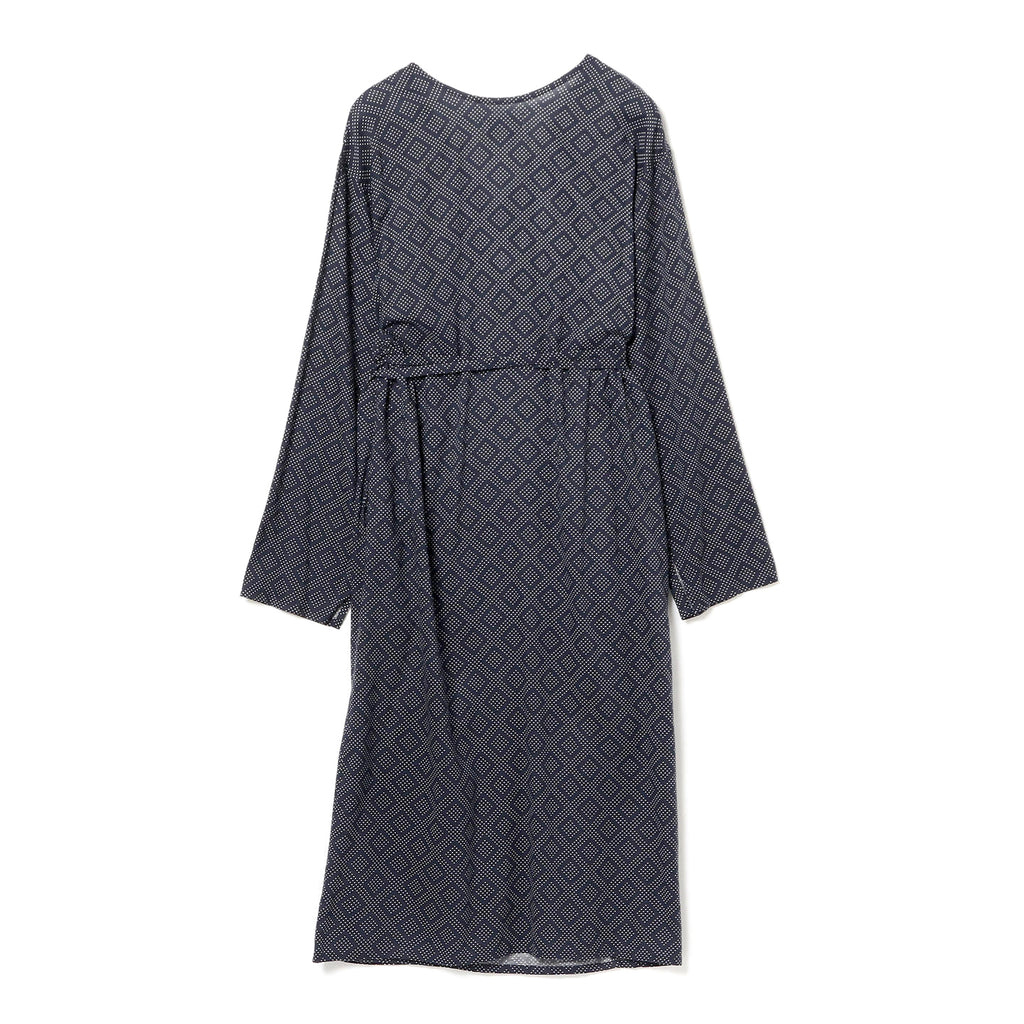 EMIL PRINTED WRAP DRESS