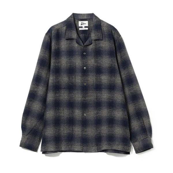 VINCENT OMBRE PLAID SHIRT