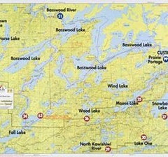 Boundary Waters Canoe Area & Quetico Maps