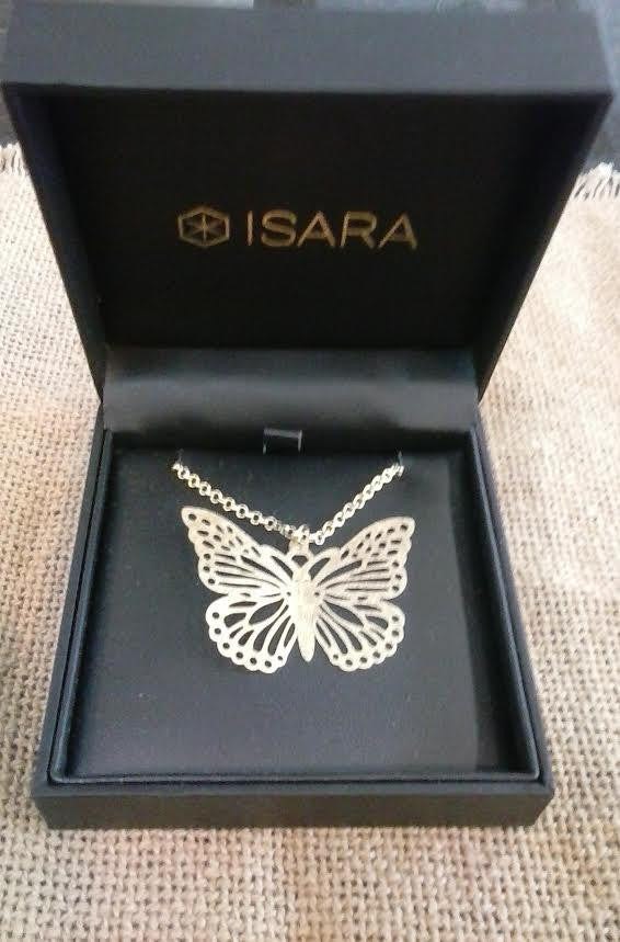 Isara Butterfly Necklace
