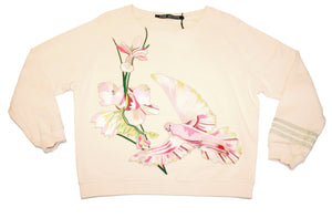 Sweat flower bird light pink