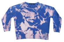 Load image into Gallery viewer, Tie-dye sweater Vivid blue