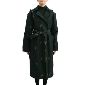Trench coat reversible