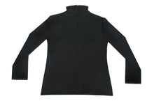 Load image into Gallery viewer, Black turtleneck graffiti sweater