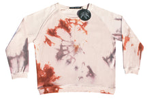 Load image into Gallery viewer, Tie-dye sweater light pink