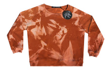 Load image into Gallery viewer, Tie-dye sweater Cognac