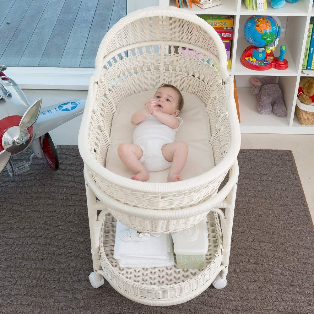 Naturepedic Organic Cotton Baby Bassinet Cradle Mattress