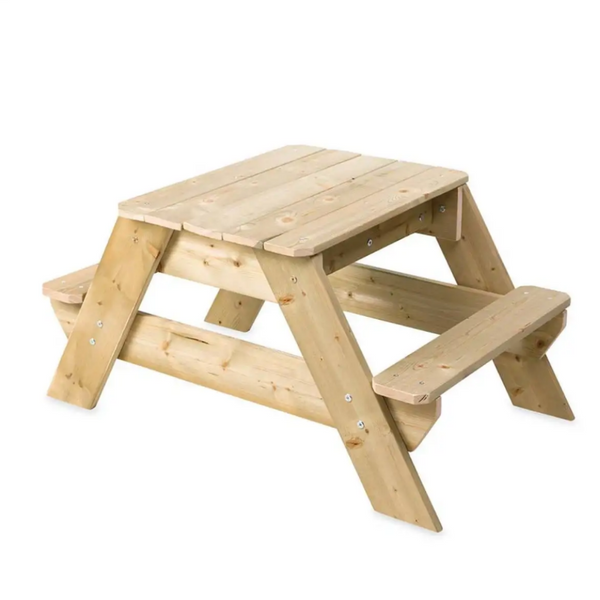 Kids Wooden Picnic Table and Sandpit Play Station 3
