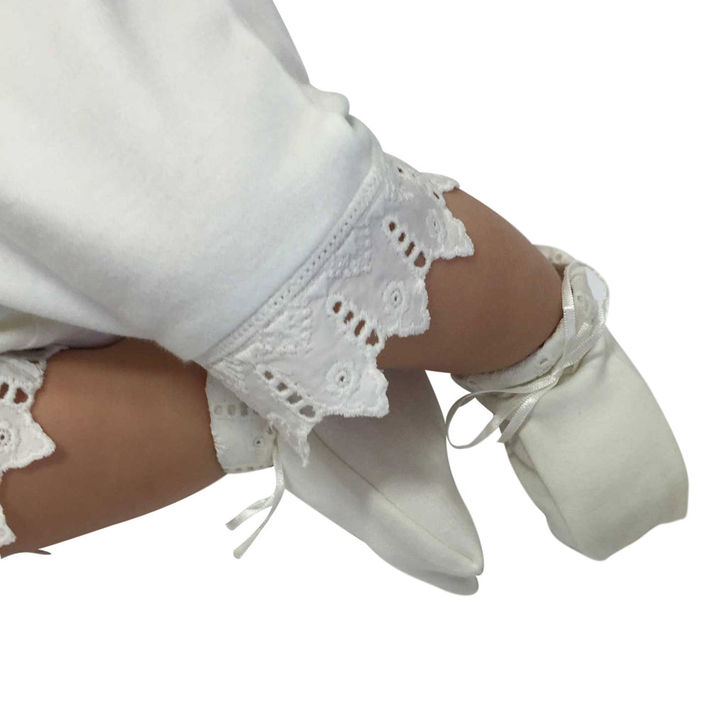 Organic Cotton Baptism-Shoes