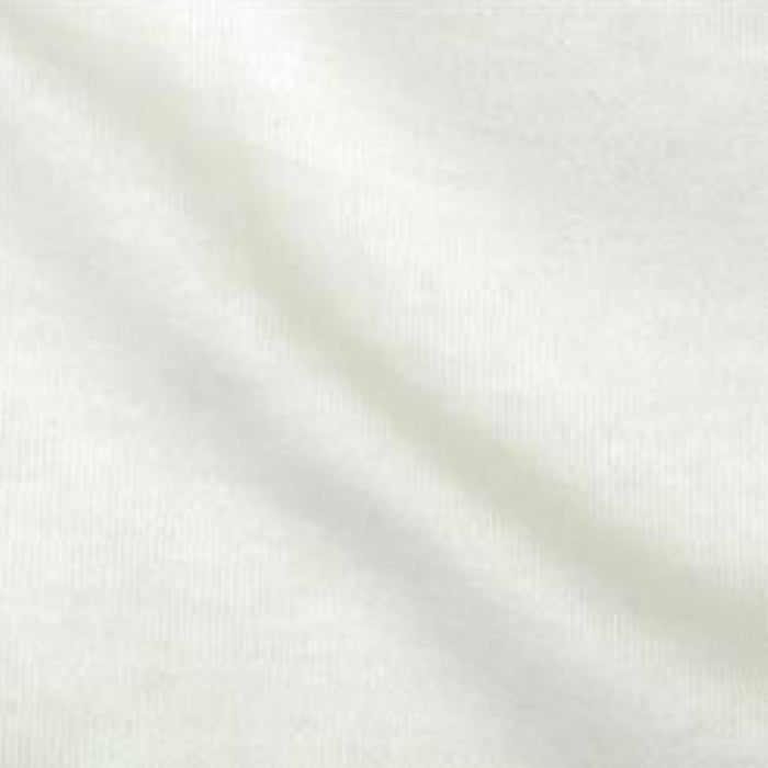 Organic Cotton Knit Fabric - Off White PFD DIY Sewing Textile Art Supply