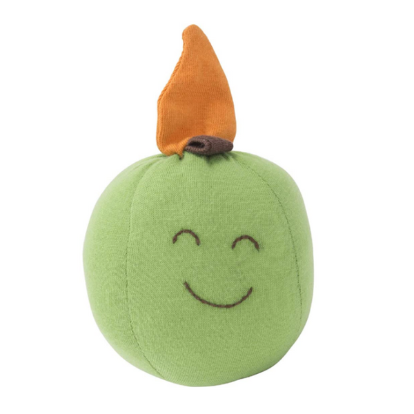 Under the Nile Organic Cotton Baby Teething Toy - Apple