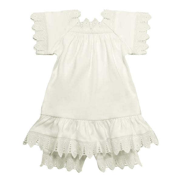 Victorian Organics Chemise Dress and Bloomer Set
