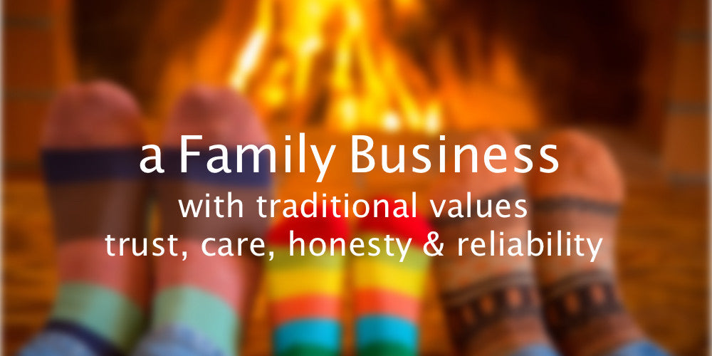 A Family Business with traditional values trust, care, honesty & reliability