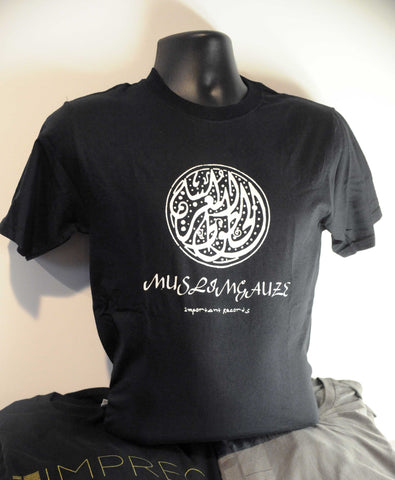 Muslimgauze - Uzbekistani - White On Black - T Shirt