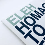 Eleh - Homage To The Pointed Waveforms - LP