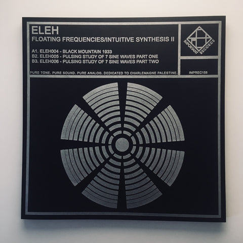 ELEH - Floating Frequencies II - Letterpress cover print