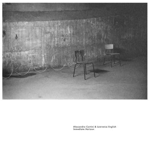 "Alessandro Cortini & Lawrence English ""Immediate Horizon"" LP"