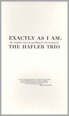 The Hafler Trio (with Jonsi Birgisson) - Exactly As I Am - 2CD