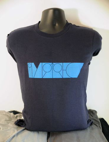Imprec Header Logo - Navy - Fitted T-Shirt