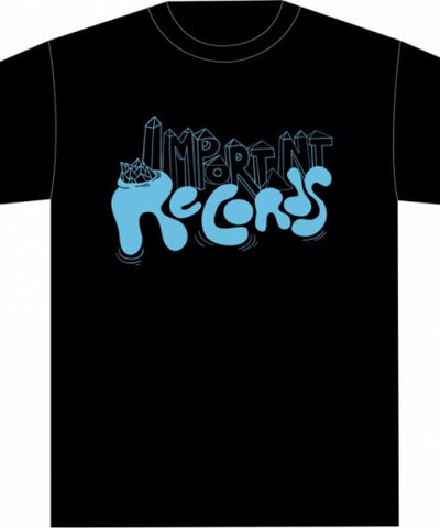 Mogdolon 2 - Electric Blue on Black - Imprec T Shirt