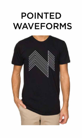 ELEH - Pointed Waveforms Shirt