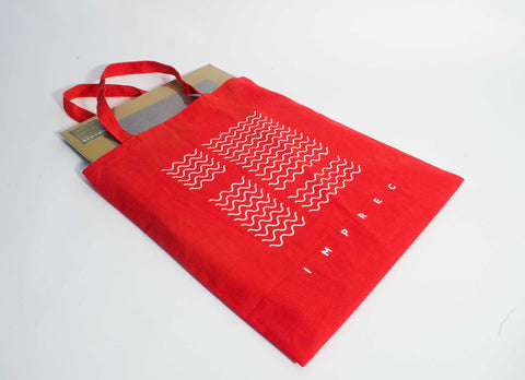 IMPREC 2020 Logo Tote Bag - Black, Red, Blue