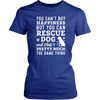 You Can't Buy Happiness But You Can Rescue a Dog Women's T-Shirt