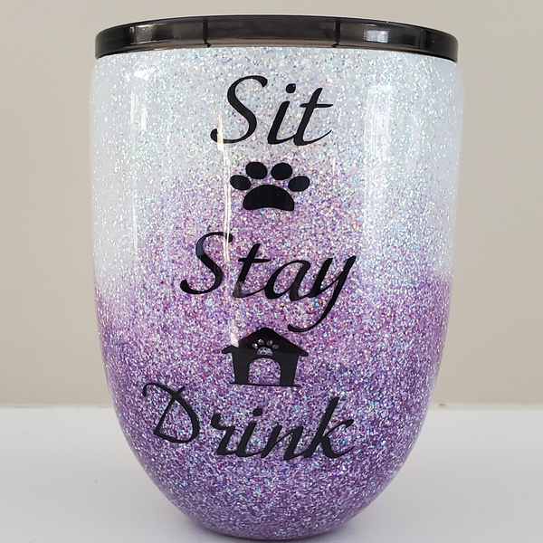 Wine Glass Tumbler
