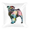 Pop Art Pug Pillow