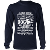 Don't Mess With My Dog Tee - Long Sleeve Unisex
