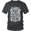 Wish All Dogs Were Safe and Loved Tee - Mens Unisex