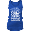 Don't Mess With My Dog Women's Tank