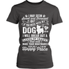 Don't Mess With My Dog Womens Tee
