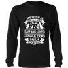 Wish All Dogs Were Safe and Loved Tee - Long Sleeve Unisex