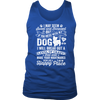 Don't Mess With My Dog Mens Tank