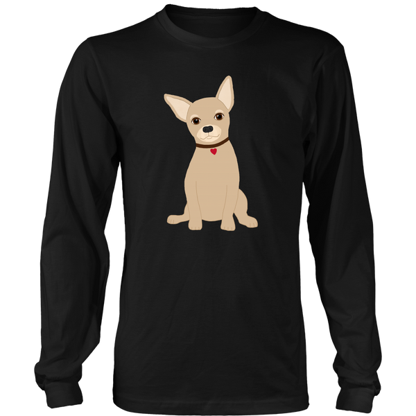 Cute Chihuahua Tee - Long Sleeve Unisex