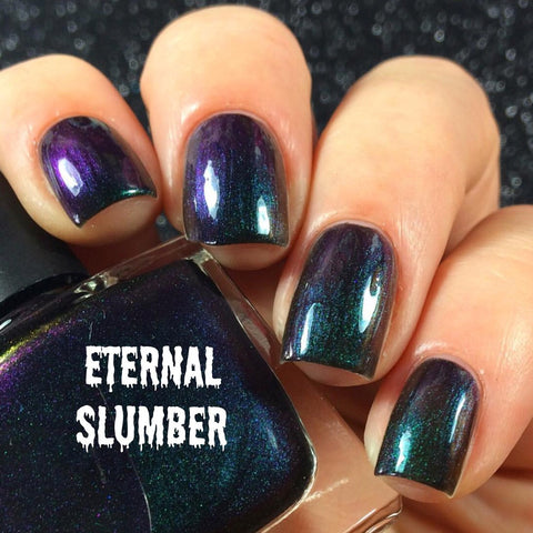 Eternal Slumber - Green/purple/black