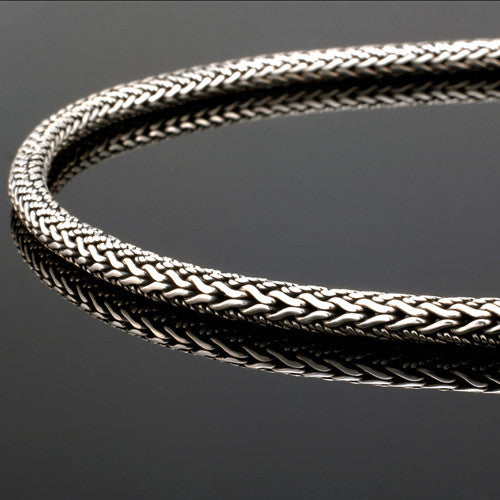 sterling silver bali chain