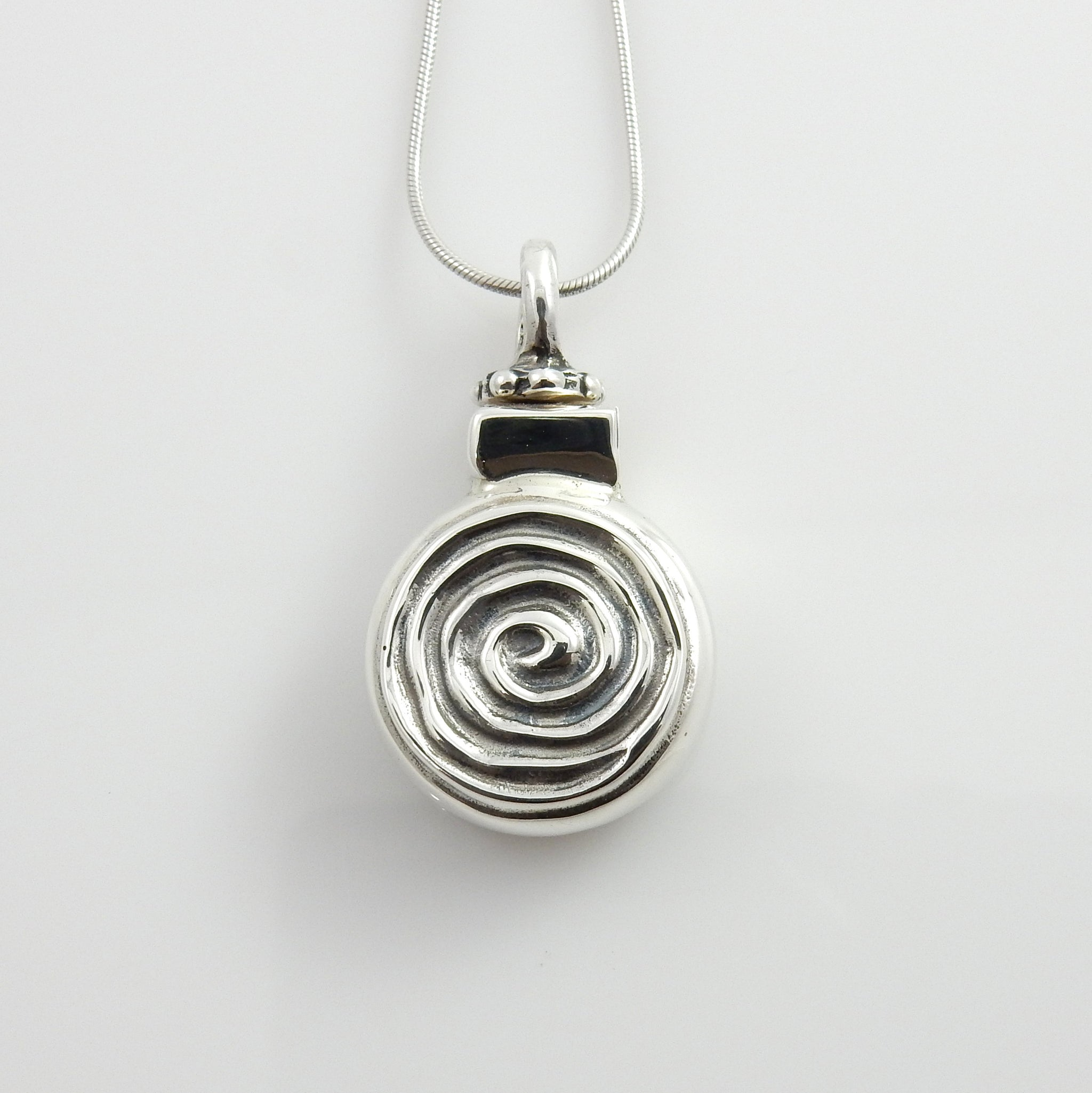 Sterling Silver Handcrafted Urn Pendant